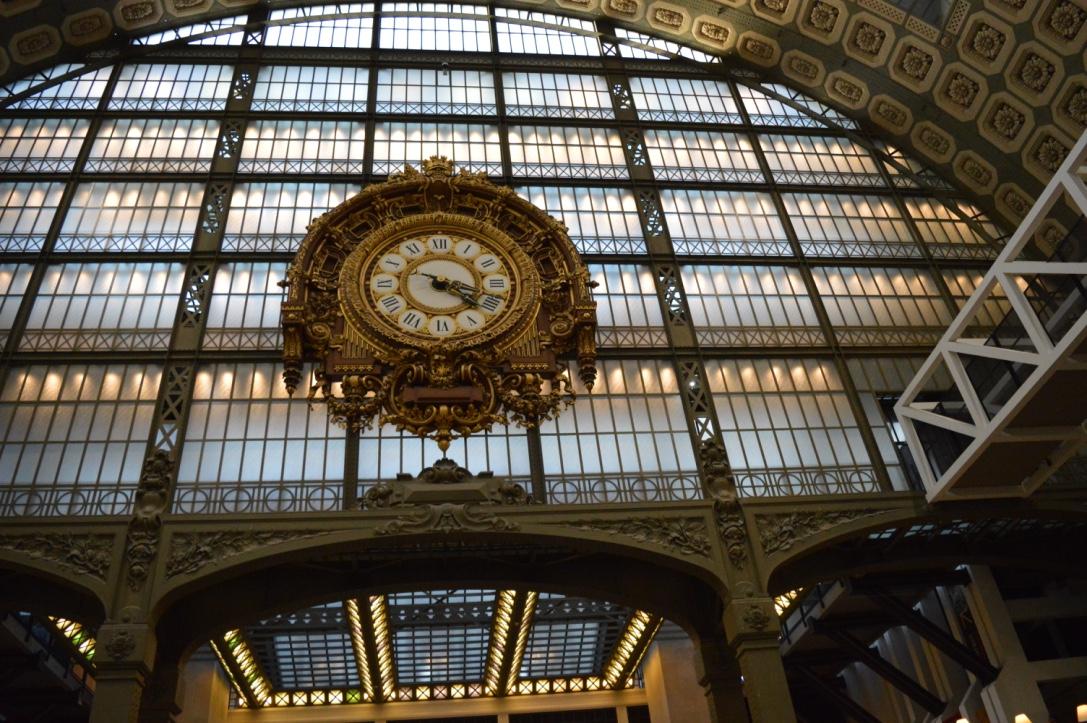 El tiempo de lo «moderno», el reloj del Museo de Orsay