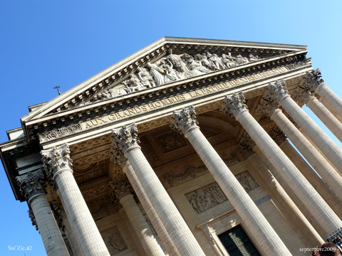 Le Panthéon et sa crypte